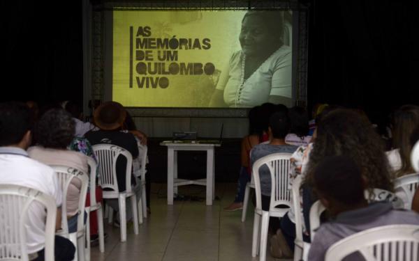 lançamento do documentário MEMÓRIAS  DE UM QUILOMBO VIVO