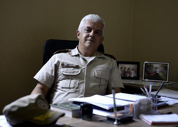 O Comandante da 79a. Cia Fala sobre o esquema preventivo que a Polícia Militar aplicou durante a Festa do Divino