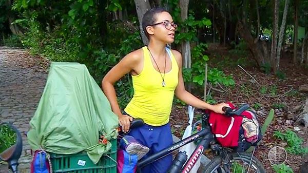 Ciclista que fazia uma viagem da Bahia para o Alaska, morre em Natal, RN