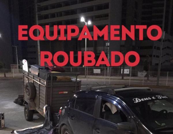 Carreta de Caetano veloso é roubada em restaurante  de beira de estrada