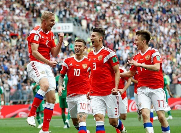 A Rússia abre com  bola de ouro a Copa do Mundo 2018