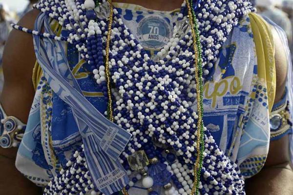 O tradicional bloco Afoxé Filhos de Gandhy completa 70 anos de tradição