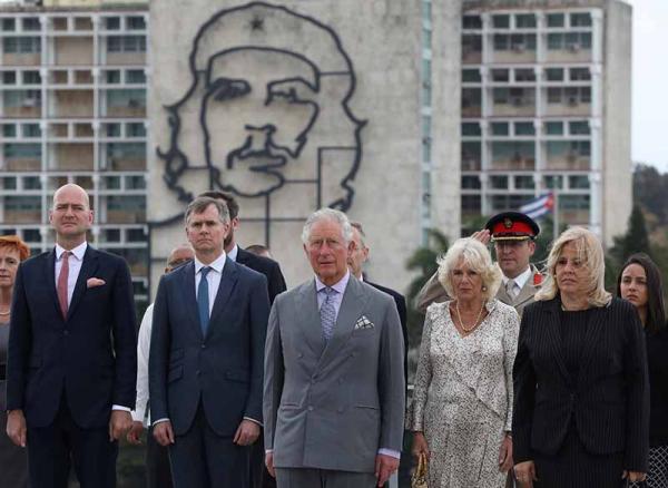 O Príncipe Charles em Cuba