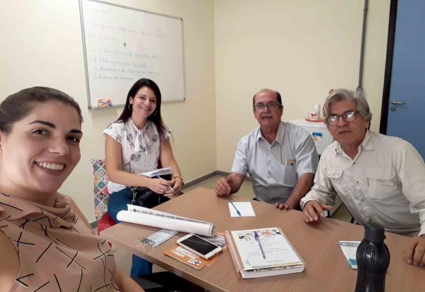 UFBA se reúne com a AVICAFE e o Núcleo Regional de Sáude