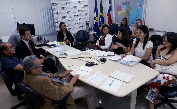 AVICAFE e secretarias de saúde dos quatro municípios se reúnem com o MPF e MPT