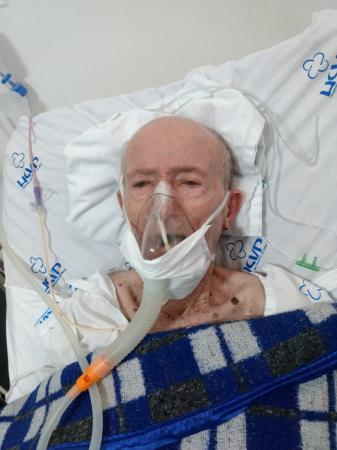 Seu Alcides volta à UTI do Hospital São Vicente