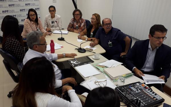 MPF recebe a AVICAFE e as Secretarias de Saúde dos municípios envolvidos no TAC