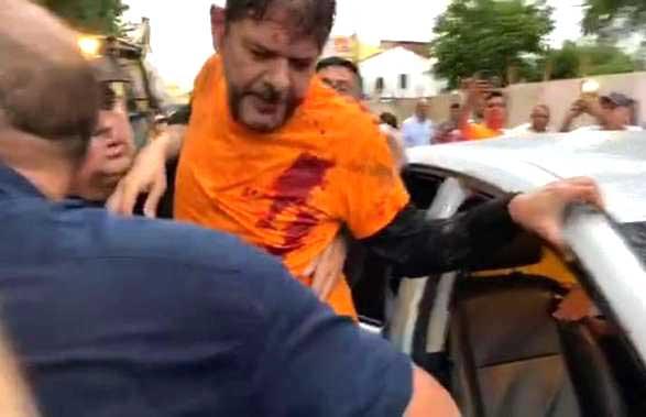 O Senador Cid Gomes é Baleado no Ceará