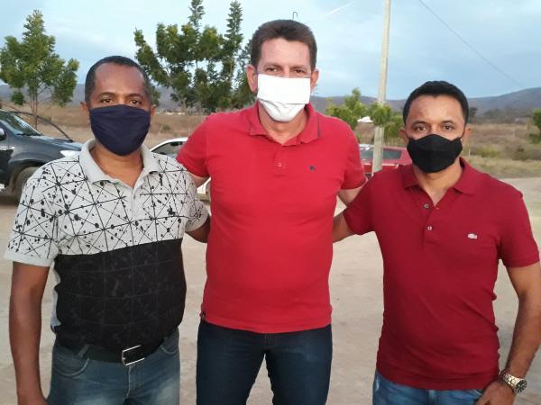Lúcio Meira lança sua pré candidatura para prefeito e apresenta seu vice