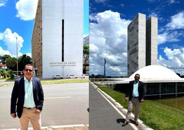 Paulo de Reis Busca recursos para Caetanos em Brasília