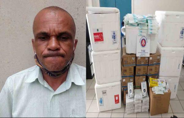Homem preso com seringas furtadas comete suicídio na cela