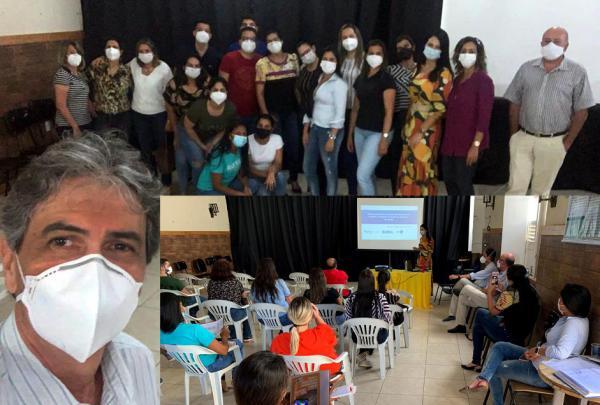 O NRS e CEREST capacitam profissionais da saúde de Poções
